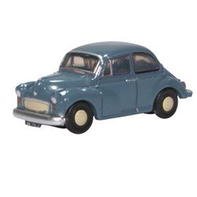 Oxford Models 133853 Morris Minor Saloon Clipper Blue