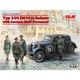 ICM 35539 Typ 320 (W142) Saloon with German Staff Personnel