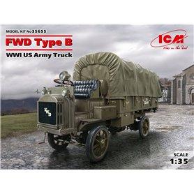 ICM 35655 FWD Type B, WWI US Army Truck