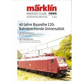 Märklins INS032020T Märklin Insider 03/2020, magasin från Märklin, 23 sidor Tyska