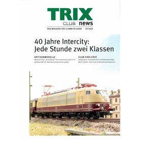 Trix CLUB32020T Trix Club 03/2020, magasin från Trix, 23 sidor i färg, Tyska