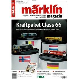 Märklin 345104 Märklin Magazin 3/2020 Tyska