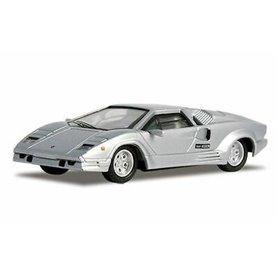 Ricko 38341 Lamborghini Countach 25th Anniversary, silver, PC-Box