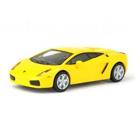 Ricko 38302 Lamborghini Gallardo, gul, PC-Box