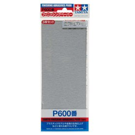 Tamiya 87055 Finishing Abrasives P600
