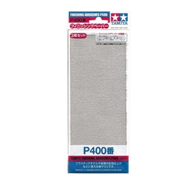 Tamiya 87054 Finishing Abrasives P400