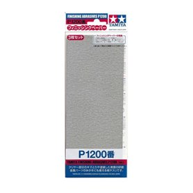 Tamiya 87058 Finishing Abrasives P1200