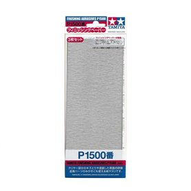 Tamiya 87059 Finishing Abrasives P1500