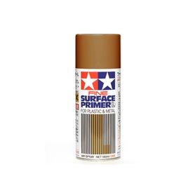 Tamiya 87160 Sprayfärg 'Surface Primer - Fine', oxid röd, för metall och plast, innehåller 180 ml