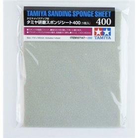 Tamiya 87147 Sanding Sponge Sheet - 400