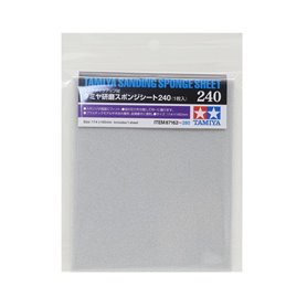Tamiya 87162 Sanding Sponge Sheet 240