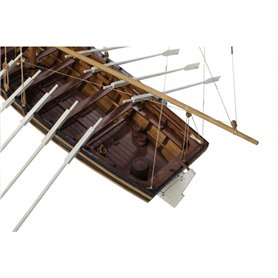 Disarmodel 20131 HMS Agamemnon, Captain Horacio Nelson's Speedboat