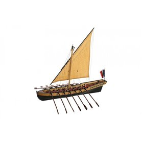 Disarmodel 20132 Le Bucentaure, Admiral Villenueve's Boat