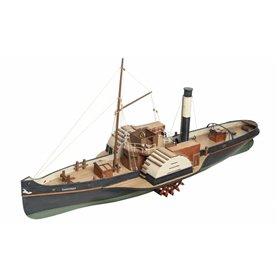 Disarmodel 20151 Vanguard, Wood Paddle Tug
