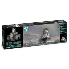 Italeri 46501 World of Warships - German Battleship Bismarck