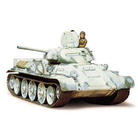 Tamiya 35049 Tanks Russian Tank T34/76 1942 Production Model