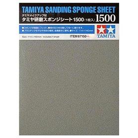 Tamiya 87150 Tamiya Sanding Sponge Sheet - 1500