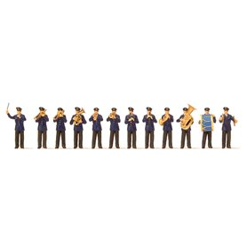 Preiser 10600 Orkester, 12 st