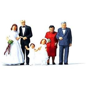 Merten H0 2535 Bröllop, 6 st