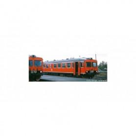 NMJ 93003DCC Dieselmotorvagn SJ Y1 1308, Oransje, DCC