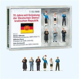 """Preiser 13403 Figurer """"Founding of the GDR in 1949"""", 6 st"""