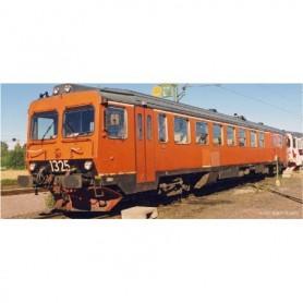 NMJ 93005DCC.1 Dieselmotorvagn SJ YF1 1325, Oransje, DCC *SKADA PÅ TAKET*
