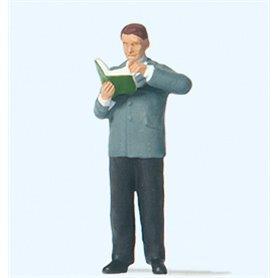 Preiser 28238 Bibliotekarie, 1 figur