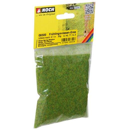 Noch 08300 Gräs, vårgräs, 2,5 mm, 20 gram påse