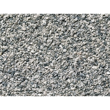 Noch 09374 Ballast, grå, 250 gram, påse