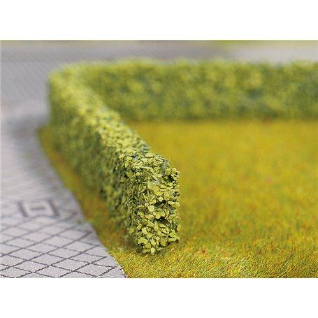 Noch 21522 Häck, grön, 2 st, 10 x 6 mm, 50 cm lång