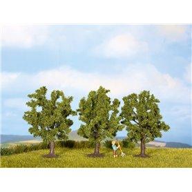 Noch 25510 Fruktträd, 3 st, gröna, ca 4,5 cm hög