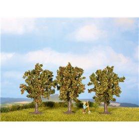 Noch 25513 Äppelträd, 3 st, ca 4,5 cm hög