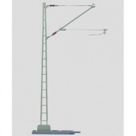 Märklin 5632 Luftledningsmast, 1 st, i metall, höjd 25,5 cm