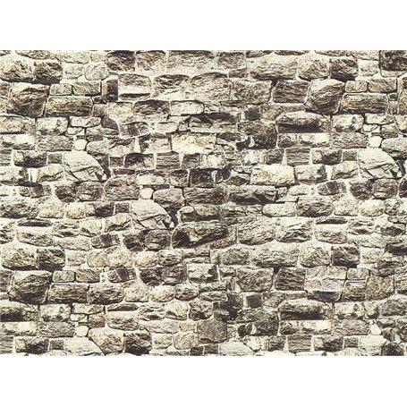 """Noch 57700 Murplatta, kartong, """"Granit"""","""