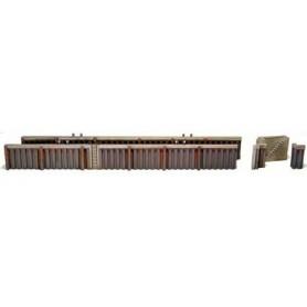 Artitec 10144 Kajmur i stål, längd 513 mm, höjd 26 mm