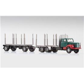 VK Modelle 77007.3 Scania 111 Bil & Släp för trätransport