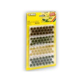 Noch 07009 Grästuvor, i olika färger, 104 st, 6mm