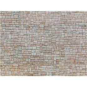 """Noch 56642 Murplatta 3D """"Lime Stone Wall"""" beige"""