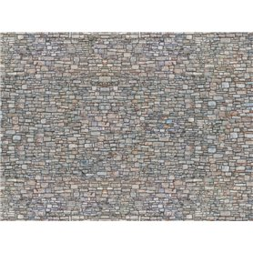 "Noch 56940 Murplatta 3D ""Quarrystone Wall"", multicoloured"