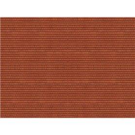 """Noch 56965 Murplatta 3D """"Roof Tile"""", röd"""