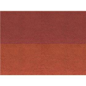 """Noch 56970 Murplatta 3D """"Plain Tile"""", röd"""