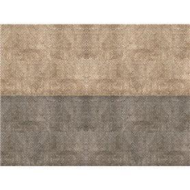 """Noch 56971 Murplatta 3D """"Plain Tile"""", grå"""