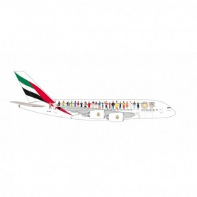 Herpa Wings 534352 Flygplan Emirates 'Year of Tolerance' Airbus A380