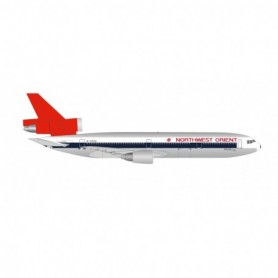 Herpa Wings 534369 Flygplan Northwest Orient Airlines 'DC-10 50th' McDonnell Douglas DC-10-40