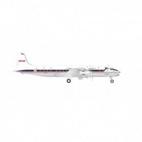Herpa Wings 570893 Flygplan Thai Airways International Douglas DC-6B