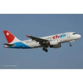 Herpa Wings 612685 Flygplan Chair Airlines Airbus A319