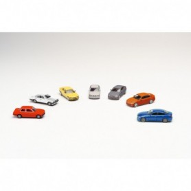 Herpa 076760 Set with 7 models '7 generations of BMW 3-series'