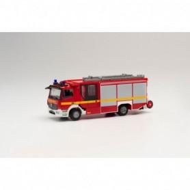Herpa 095327 Mercedes-Benz Atego 13 Ziegler Z-Cab fire truck 'Feuerwehr'