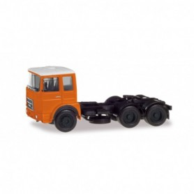 Herpa 310567-002 Roman Diesel 6×2 rigid tractor, orange|white