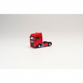 Herpa 311939 MAN TGX GX rigid tractor, red